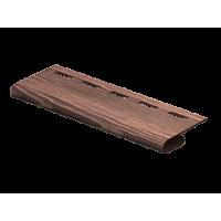 Завершающая планка Ю-пласт timberblock Дуб мореный