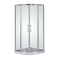 Душевой угол Sansa Prima SP-90/15, профиль хром, стекло прозрачное, 90х90х210 см