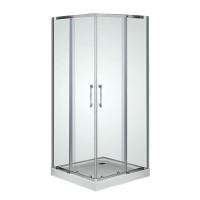Душевой угол Sansa Prima SP-90S/15, профиль хром, стекло прозрачное, 90х90х210 см