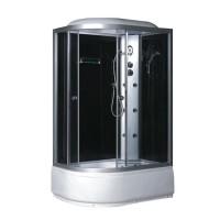 Гидробокс Fabio TMS-886/40 R c электроникой, профиль сатин, стекло серое, заднее стекло черное, 120x80x215 см