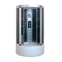 Гидробокс Miracle F6-5 с электроникой, профиль сатин, стекло серое, 90х90х205 см