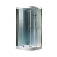 Гидробокс Grandehome WR144, профиль хром, стекло прозрачное 6 мм, 90х90х225 см