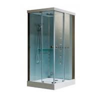 Гидробокс Grandehome WR149 R, профиль хром, стекло прозрачное, 100х100х225 см