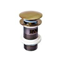 Донный клапан для раковины WELLE (C21031-HO), бронза