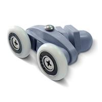 Ролик Sansa, двойной, ø 20 мм, универсальный для душевых кабин Miracle и Sansa