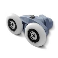 Ролик Sansa, двойной, ø 23 мм, универсальный для душевых кабин Miracle и Sansa
