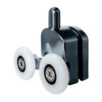Ролик Fabio FS-260/15, двойной, нижний, ø 23 мм, для душевых углов и гидробоксов