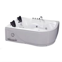 Ванна акриловая IRIS TLP-631L с гидромассажем, левосторонняя, 180х120х66 см