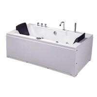 Ванна акриловая IRIS TLP-658 с гидро-, аэромассажем, 180х90х76 см