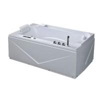 Ванна акриловая IRIS TLP-679, с гидро-, аэромассажем, 170х90х67 см