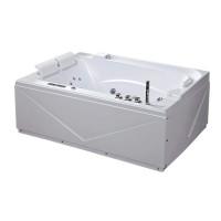 Ванна акриловая IRIS TLP-680 с гидро-, аэромассажем, 170х120х67 см