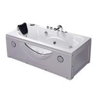 Ванна акриловая IRIS TLP-633-G с гидромассажем, 168х85х66 см