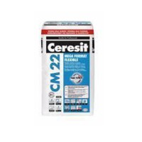 Высокоэластичная клеющая смесь для крупноформатной плитки CERESIT (церезит) СМ-22 25кг