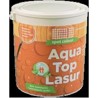 Топлазурь водная для древесины Aqua Top Lasur белое дерево