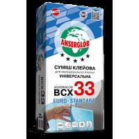 Смесь для облицовки ANSERGLOB BCХ 33