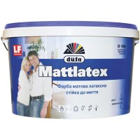 Краска латексная матовая DUFA D100 Mattlatex (ДУФА Маттлатекс) 14кг