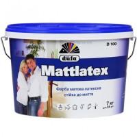 Краска латексная матовая DUFA D100 Mattlatex (ДУФА Маттлатекс) 7кг