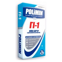 Гидроизоляционная смесь Полимин ГI-1 (аква-барьер), 25кг АКЦ