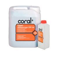 Грунт-концентрат Coral (Корал) СРР-1:4, 5 л