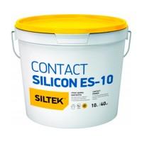 Грунт-краска Siltek (Силтек) ES-10 контактная силиконовая, 10 л