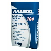 Клей для плитки KREISEL Elasti Multi 104 (Крайзель Эласти Мульти) 25 кг эластичный