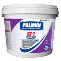 Краска силиконовая фасадная Полимин SF-1, 14 кг