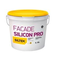 Краска Siltek Facade Silicon Pro (Силтек Фасад Силикон Про), 9 л