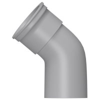 Колено 112,5° (160 мм), HUNTER Шторм (Великобритания)