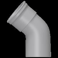 Колено 135° (160 мм), HUNTER Шторм (Великобритания)