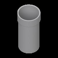 Труба с муфтой (160 мм), L=4м, HUNTER Шторм (Великобритания)