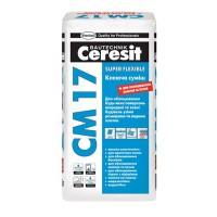 Клеящая смесь СМ-17 CERESIT (Церезит) 25кг