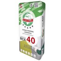 Клей для приклеивания и защиты теплоизоляции ANSERGLOB BCХ 40